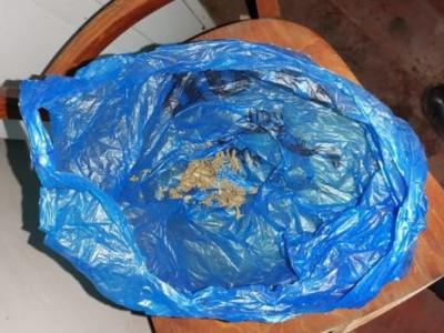 Полицейские уничтожили изъятые наркотические вещества